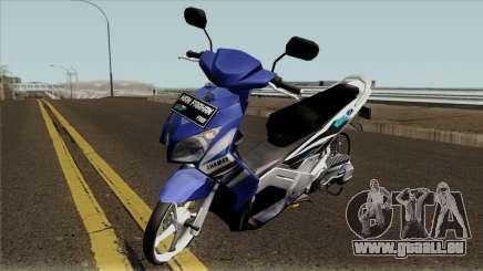 Yamaha Nouvo Z Blue STD für GTA San Andreas
