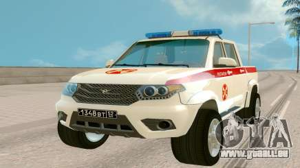 UAZ Pickup (Regardie) pour GTA San Andreas