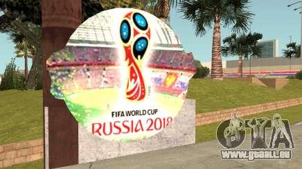FIFA World Cup Russia 2018 Stadium für GTA San Andreas