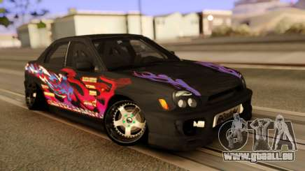 Subaru Impeza WRX STI für GTA San Andreas