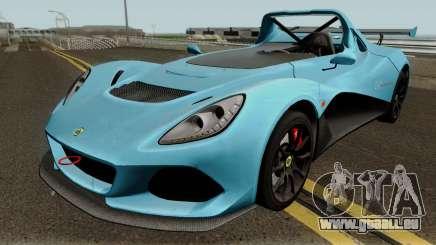 Lotus 3 Eleven 2016 pour GTA San Andreas