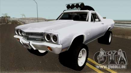 Chevrolet El Camino SS Rusty Rebel 1970 pour GTA San Andreas