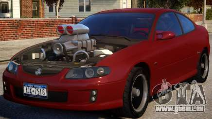 Holden Monaro Supercharged pour GTA 4