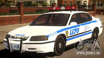 2003 Chevrolet Impala LCPD 2 pour GTA 4