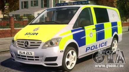Mercedes-Benz Vito Police V.1.2 pour GTA 4