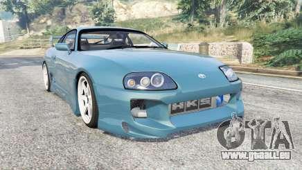 Toyota Supra Turbo (JZA80) v1.5 [replace] pour GTA 5