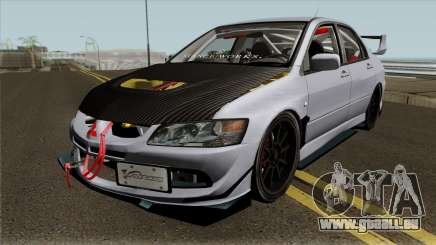 Mitsubishi Evolution Tuning Mod pour GTA San Andreas