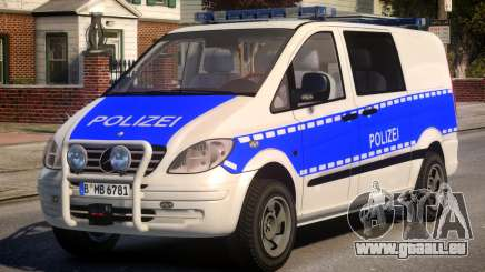 Mercedes Benz Vito German Police für GTA 4