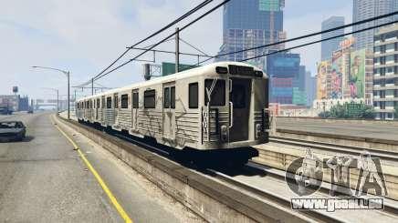 2008 Liberty City Metro Train für GTA 5