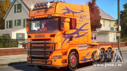 Scania R580 Longline Custom P10 pour GTA 4