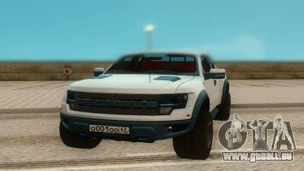 Ford Raptor für GTA San Andreas