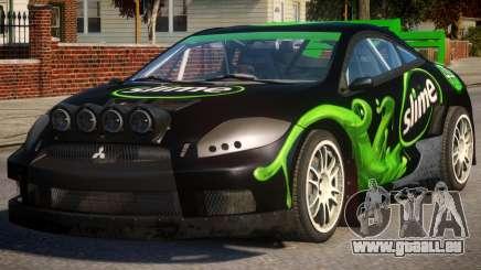 Mitsubishi Eclipse Rallycross PJ2 für GTA 4