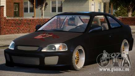 Honda Civic EA Tuned pour GTA 4