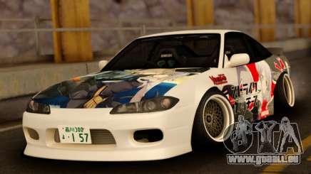 Nissan 180SX Facelift Silvia S15 für GTA San Andreas