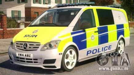 Mercedes-Benz Vito Police V.1.3 pour GTA 4