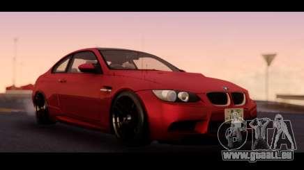 BMW 3-er M3 E92 pour GTA San Andreas