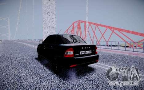 Lada Priora Black Edition für GTA San Andreas