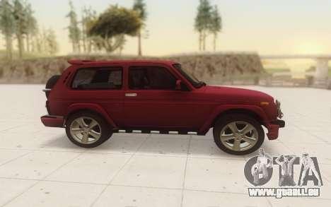 Niva 2121 Urban pour GTA San Andreas laissé vue
