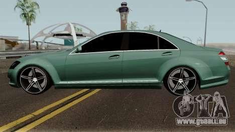 Mercedes-Benz S500 Vossen pour GTA San Andreas laissé vue