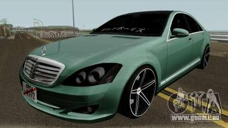 Mercedes-Benz S500 Vossen pour GTA San Andreas
