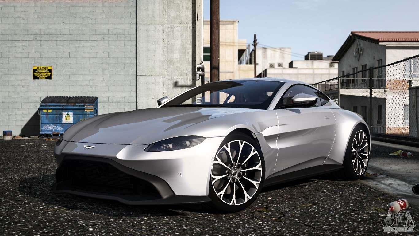 Aston Martin Vantage 2019 Für Gta 5