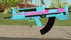GTA Online Bullpup Rifle mk.2 Blue für GTA San Andreas