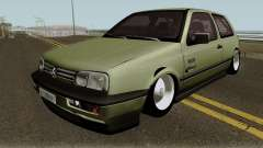 Volkswagen Golf MK3 Unmarked Army pour GTA San Andreas