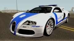 Bugatti Veyron 16.4 Algeria Police 2009 pour GTA San Andreas