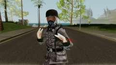 SS Nazi Skin with Gasmask für GTA San Andreas