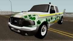 Ford Ranger 2007 da PATRAM pour GTA San Andreas