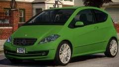 Mercedes Benz A 200 Turbo V1.3 pour GTA 4