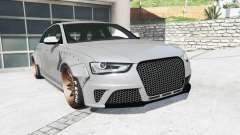Audi RS 4 Avant (B8) 2013 LibertyWalk [replace] pour GTA 5