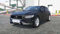 Volvo V60 2018 Unmarked Police [ELS] [replace] pour GTA 5