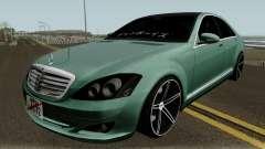 Mercedes-Benz S500 Vossen für GTA San Andreas