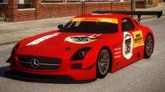Mercedes-Benz SLS AMG PJ2 pour GTA 4