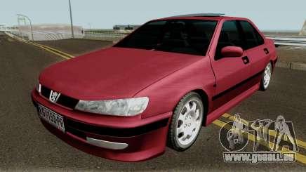 Peugeot 406 Stock MQ pour GTA San Andreas