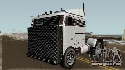 Jobuilt Hauler Custom GTA V IVF pour GTA San Andreas