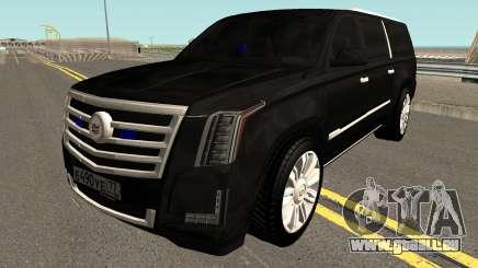 Cadillac Escalade FBI pour GTA San Andreas