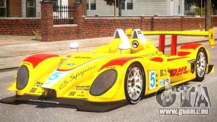 Porsche RS Spyder PJ1 pour GTA 4