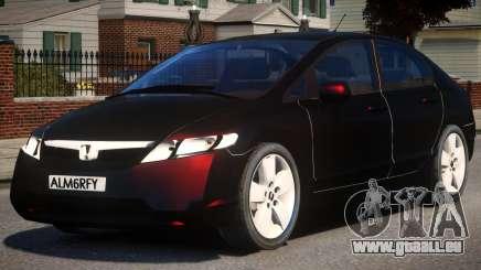 2007 Honda Civic pour GTA 4