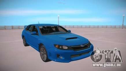 Subaru Impreza WRX STi 2011 Blue pour GTA San Andreas