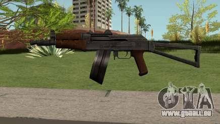 AKS74U HQ pour GTA San Andreas
