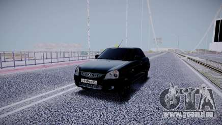 Lada Priora Black Edition für GTA San Andreas