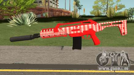 GTA Doomsday Heist Special Carbine Mk.2 Red für GTA San Andreas