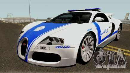 Bugatti Veyron 16.4 Algeria Police 2009 für GTA San Andreas