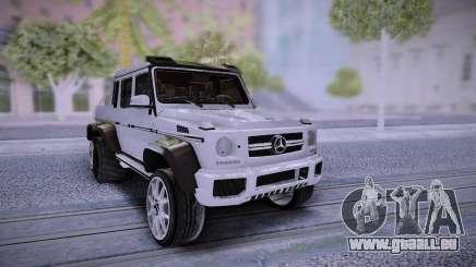 Mercedes-Benz G65 6X6 pour GTA San Andreas