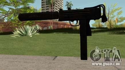 MAC-10 Black für GTA San Andreas