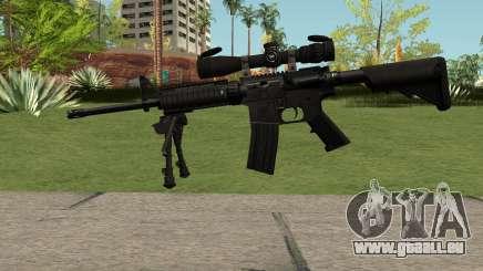 M4 Sniper pour GTA San Andreas