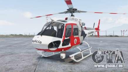 Helibras AS350 B2 Policia Militar [add-on] für GTA 5