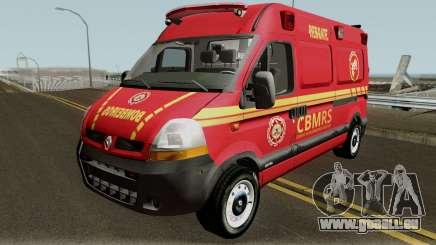 Renault Master Brazilian Ambulance  pour GTA San Andreas